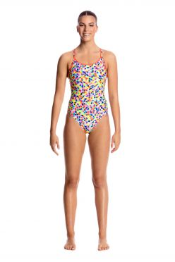 Funkita Hex on legs diamond back badpak dames