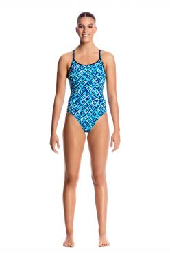 Funkita Ice attack diamond back badpak dames