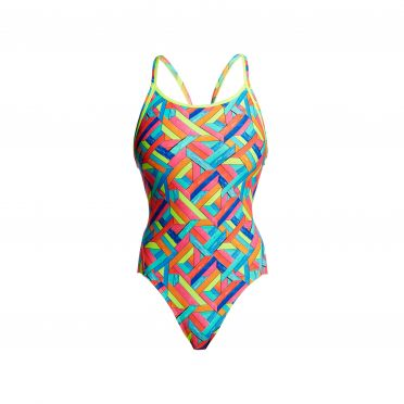 Funkita Panel pop diamond back badpak dames