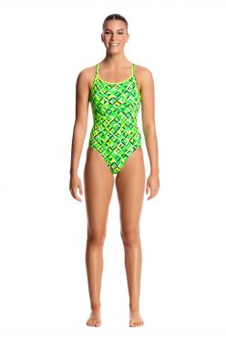 Funkita Radioactive diamond back badpak dames