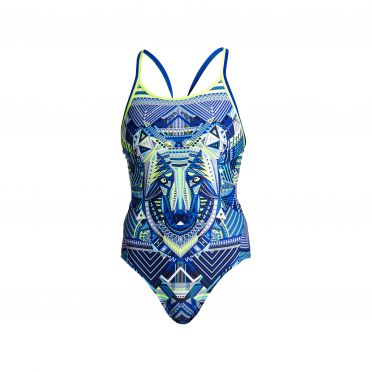 Funkita Sea wolf diamond back badpak dames