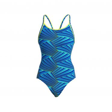 Funkita Streaker diamond back badpak dames