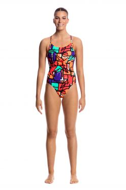 Funkita Street beat diamond back badpak dames