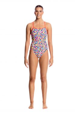Funkita Flash bomb single strap badpak dames