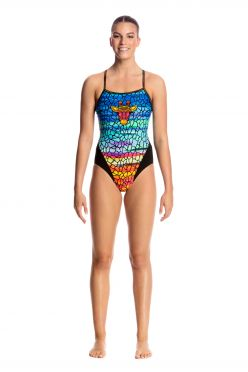 Funkita Scorching hot single strap badpak dames