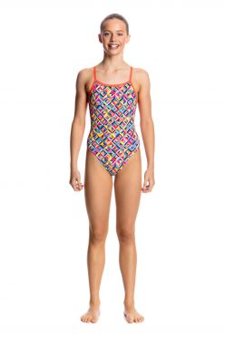 Funkita Flash bomb single strap badpak meisjes