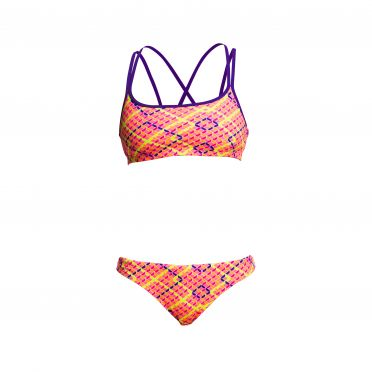 Funkita Best cellar Criss cross sports bikini set dames