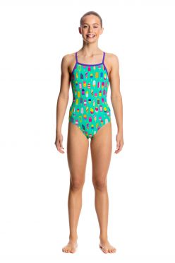 Funkita Popsicle parade cross back badpak meisjes