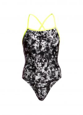 Funkita Midnight assassin strapped in badpak dames