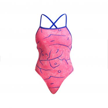 Funkita Rock salt strapped in badpak dames