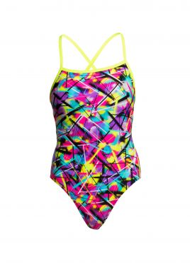 Funkita Spray on strapped in badpak dames
