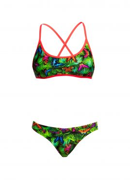 Funkita Pretty fly Tie down bikini set dames