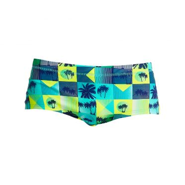 Funky Trunks Pop Tropo Plain front trunk zwembroek heren