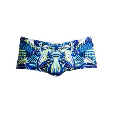Funky Trunks Sea wolf Plain front trunk zwembroek heren