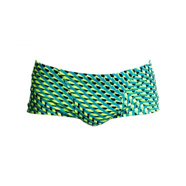 Funky Trunks Green gator Classic trunk zwembroek heren