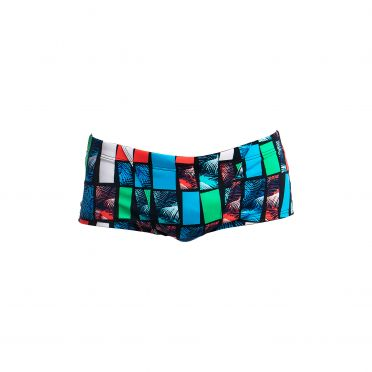 Funky Trunks Jungle line Classic trunk zwembroek heren