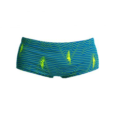 Funky Trunks Ripple effect Printed trunk zwembroek jongens