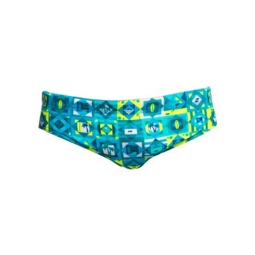 Funky Trunks Lime light Classic brief zwembroek heren