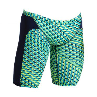 Funky Trunks Green gator Training jammer zwembroek heren