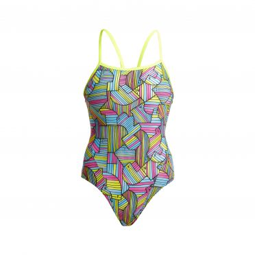 Funkita Hot Property single strap badpak dames