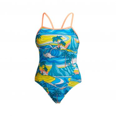 Funkita Summer Bay single strap badpak dames