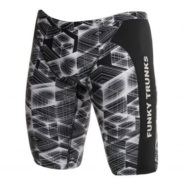 Funky Trunks Black hole Training jammer zwembroek heren