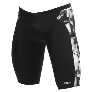 Funky Trunks Black Tint training jammer zwembroek heren