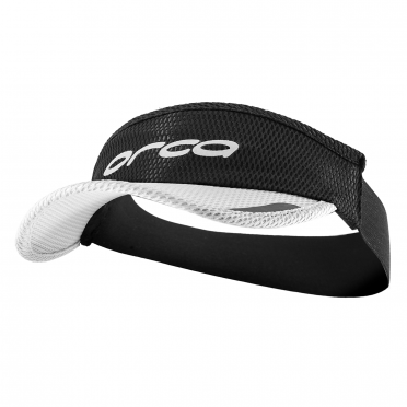 Orca Hardloop visor Flexi-Fit zwart/wit