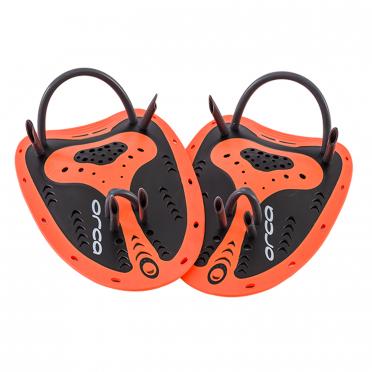 Orca Beginner handpeddels oranje/zwart