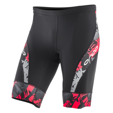 Orca 226 Kompress tri short zwart/rood heren