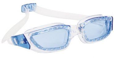 Aqua Sphere Kameleon blauwe lens zwembril zilver/blauw