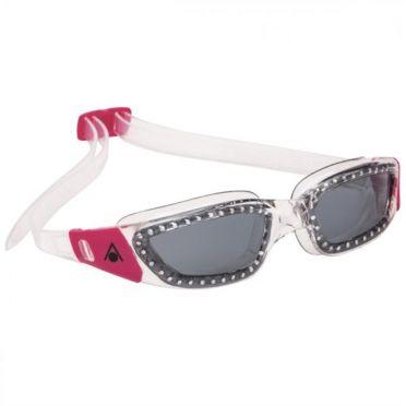 Aqua Sphere Kameleon Lady donkere lens zwembril silver/roze