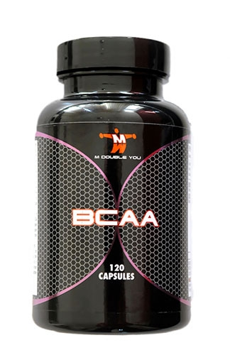 M Double You BCAA 120 caps