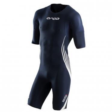 Orca RS1 korte mouw swimskin blauw heren