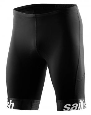 Sailfish Competition tri short zwart heren