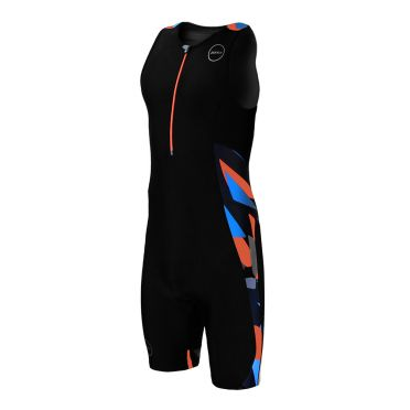 Zone3 Activate plus mouwloos trisuit Midnight camo heren