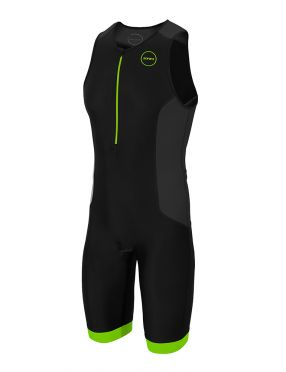 Zone3 Aquaflo plus mouwloos trisuit zwart heren