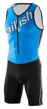 Sailfish Team Tri suit blauw-wit heren