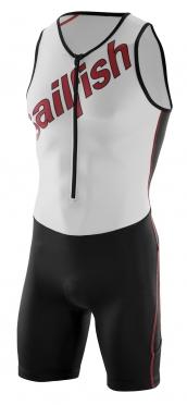 Sailfish Team Tri suit rood-wit heren