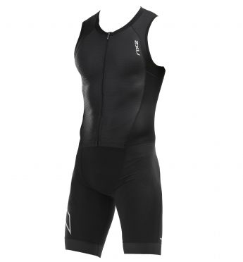 2XU Compression mouwloos trisuit zwart heren