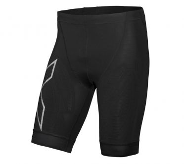 2XU Compression tri shorts zwart heren