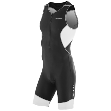 Orca Core race trisuit zwart/wit heren
