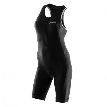 Orca core basic race trisuit mouwloos zwart dames