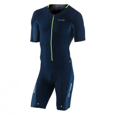 Orca 226 kompress aero race trisuit blauw heren