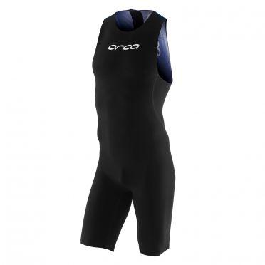 Orca 226 perform swimskin mouwloos zwart/blauw heren