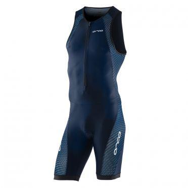 Orca core race trisuit mouwloos blauw heren