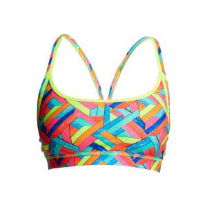 Funkita Panel pop Sports bikini top dames