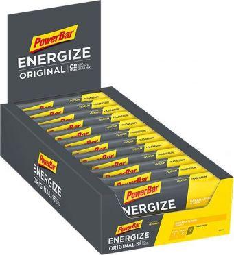 Powerbar Energize bar energiereep banaan 25 x 55 gram