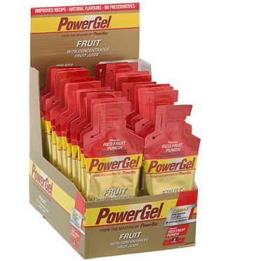 Powerbar Powergel fruit rood fruit 24 x 41 gram