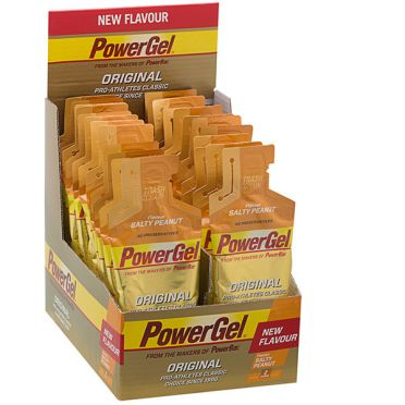 Powerbar Powergel original zoute pinda 24 x 41 gram